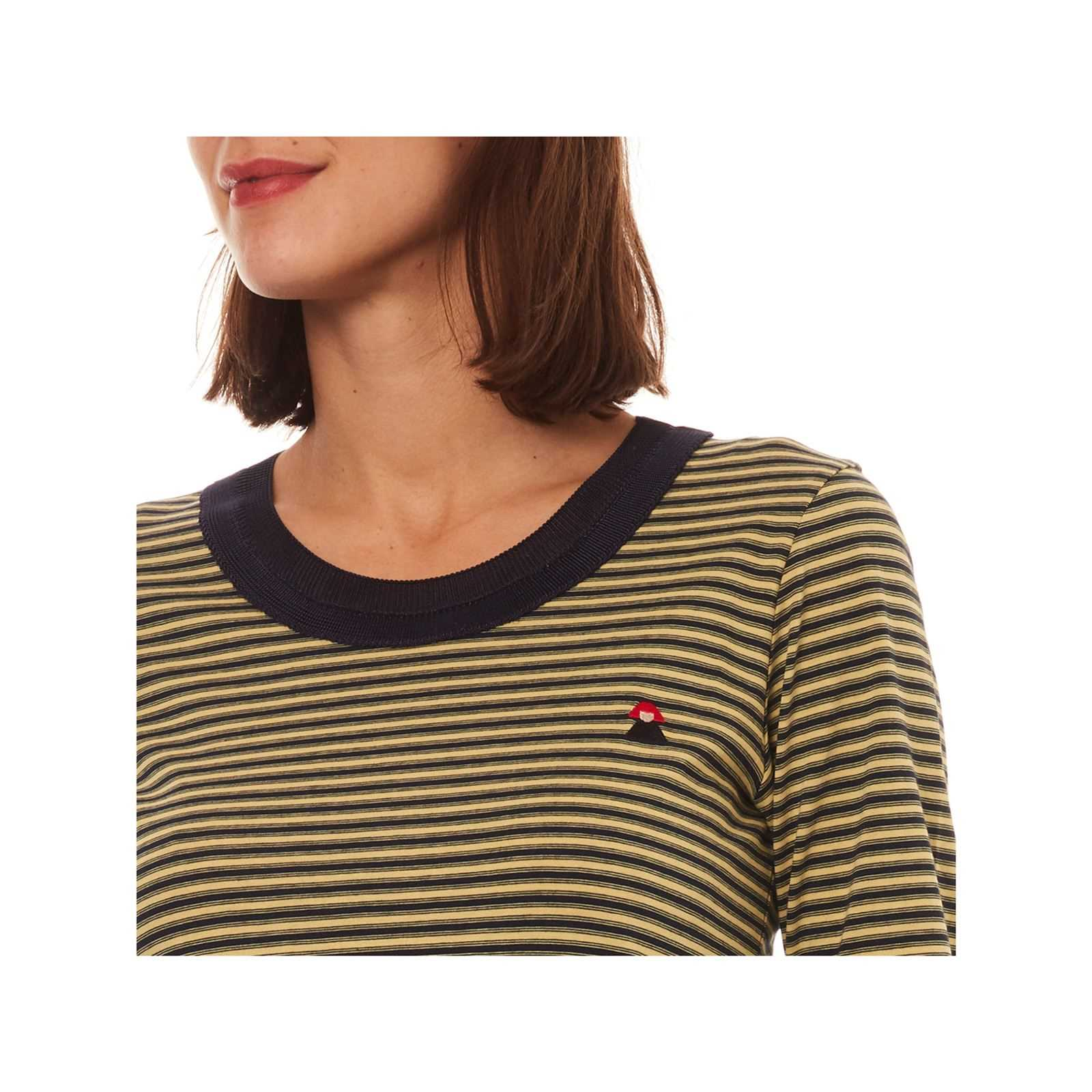 Rykiel LonguesJaune By Sonia V T Femme Manches shirt rBEQoCWedx