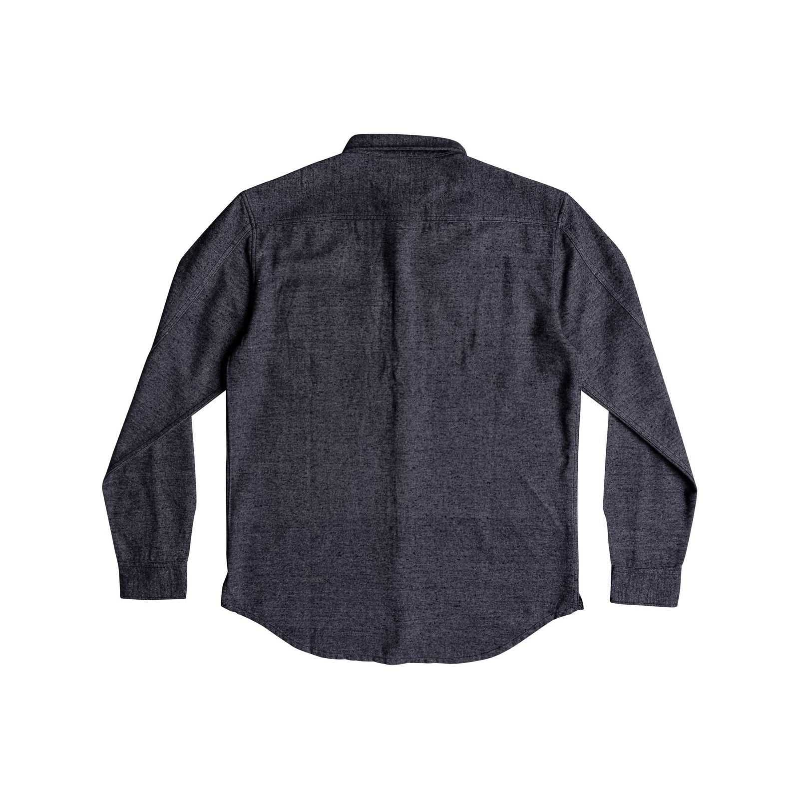 V Homme Manches Quiksilver Chemise LonguesAnthracite nONyv0wPm8