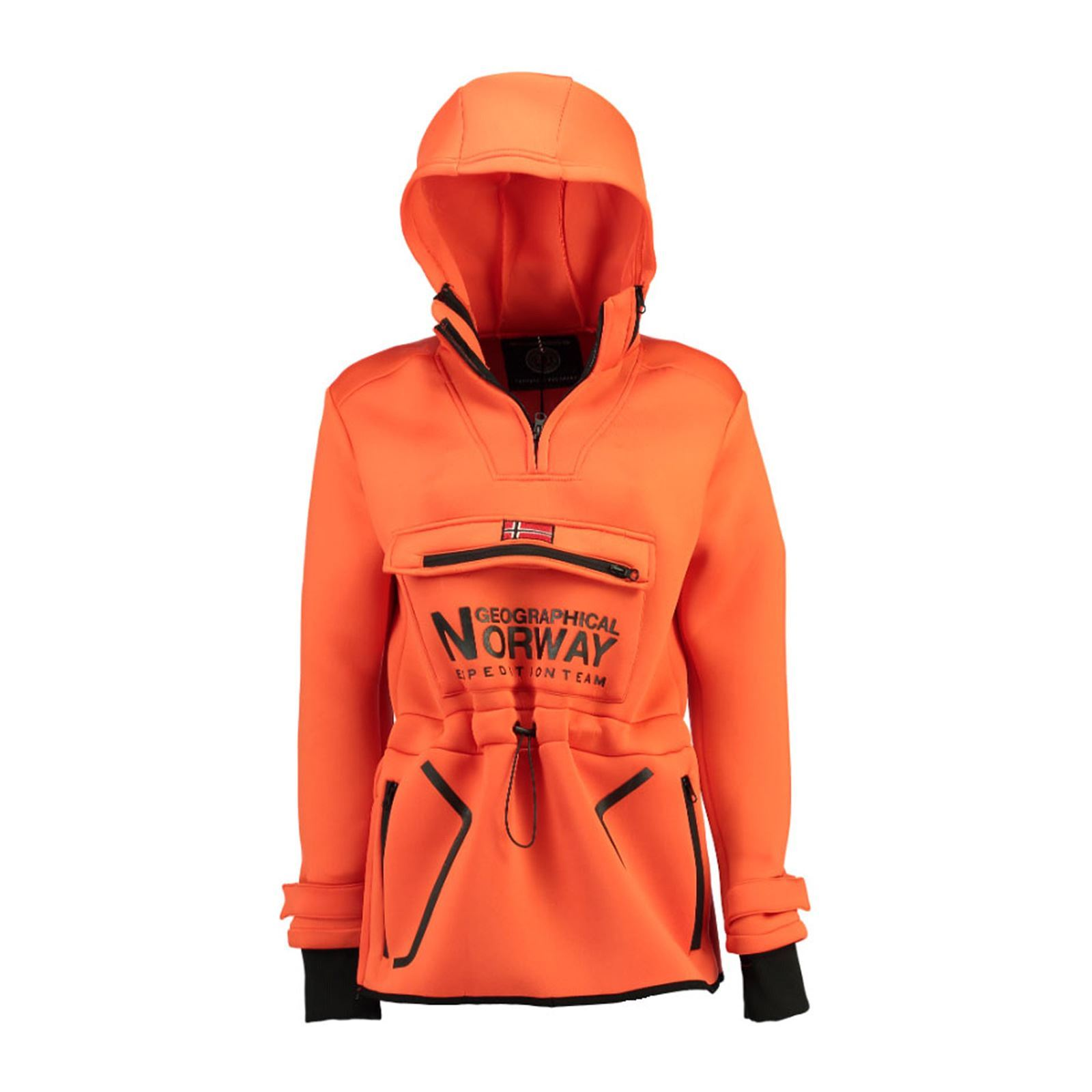 Orange Femme Norway TabernacVeste V Geographical Softshell l1TJFc3K