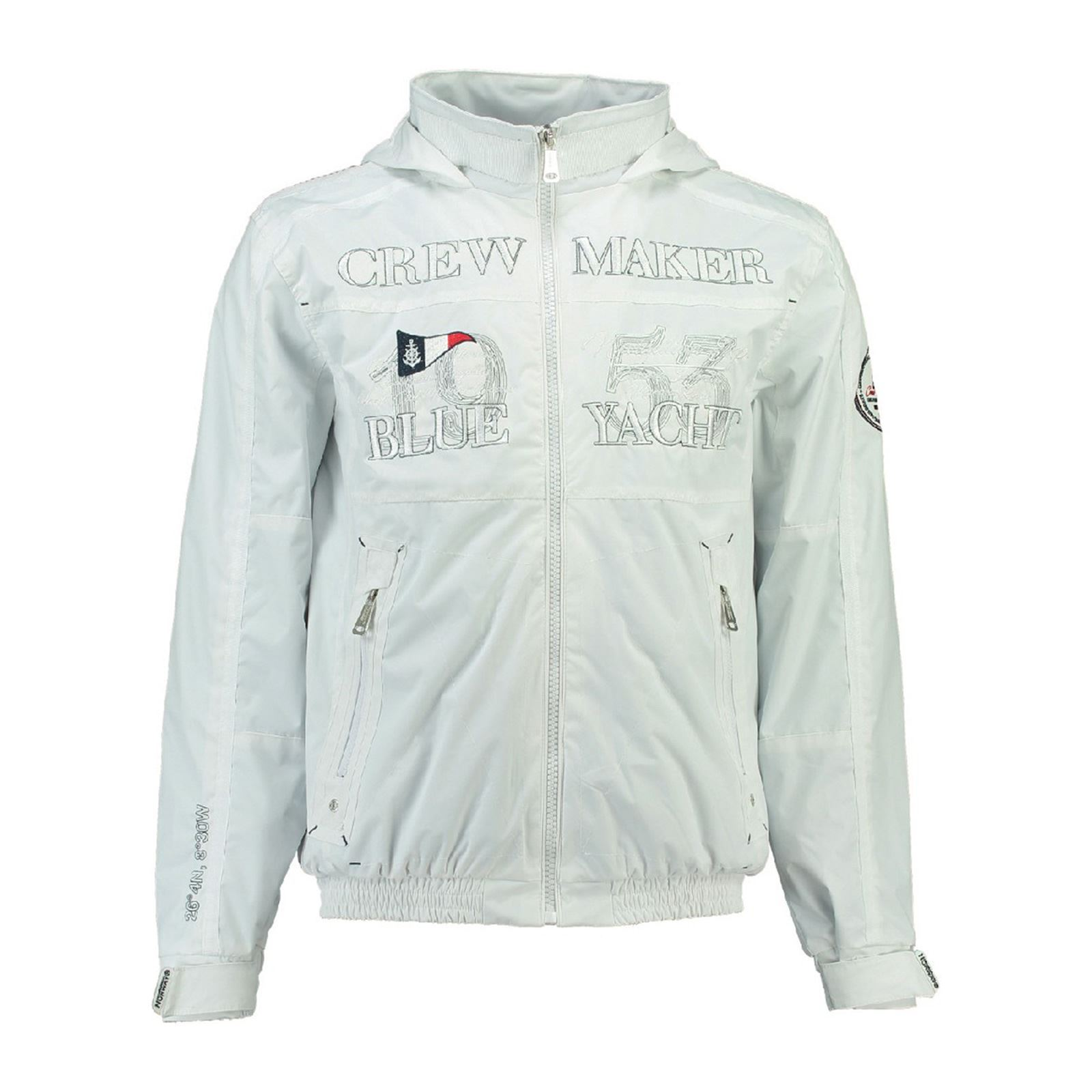 Geographical Norway CacaoVeste Blanc Homme V Ybgf76yv