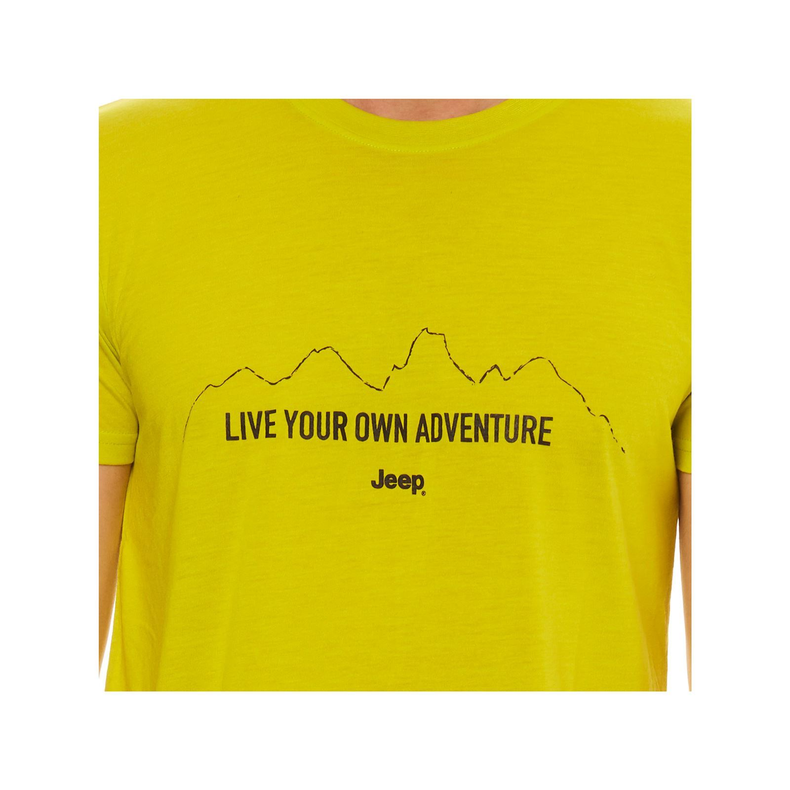 T shirt Homme Manches V Jeep CourtesAnis 67Ybygvf