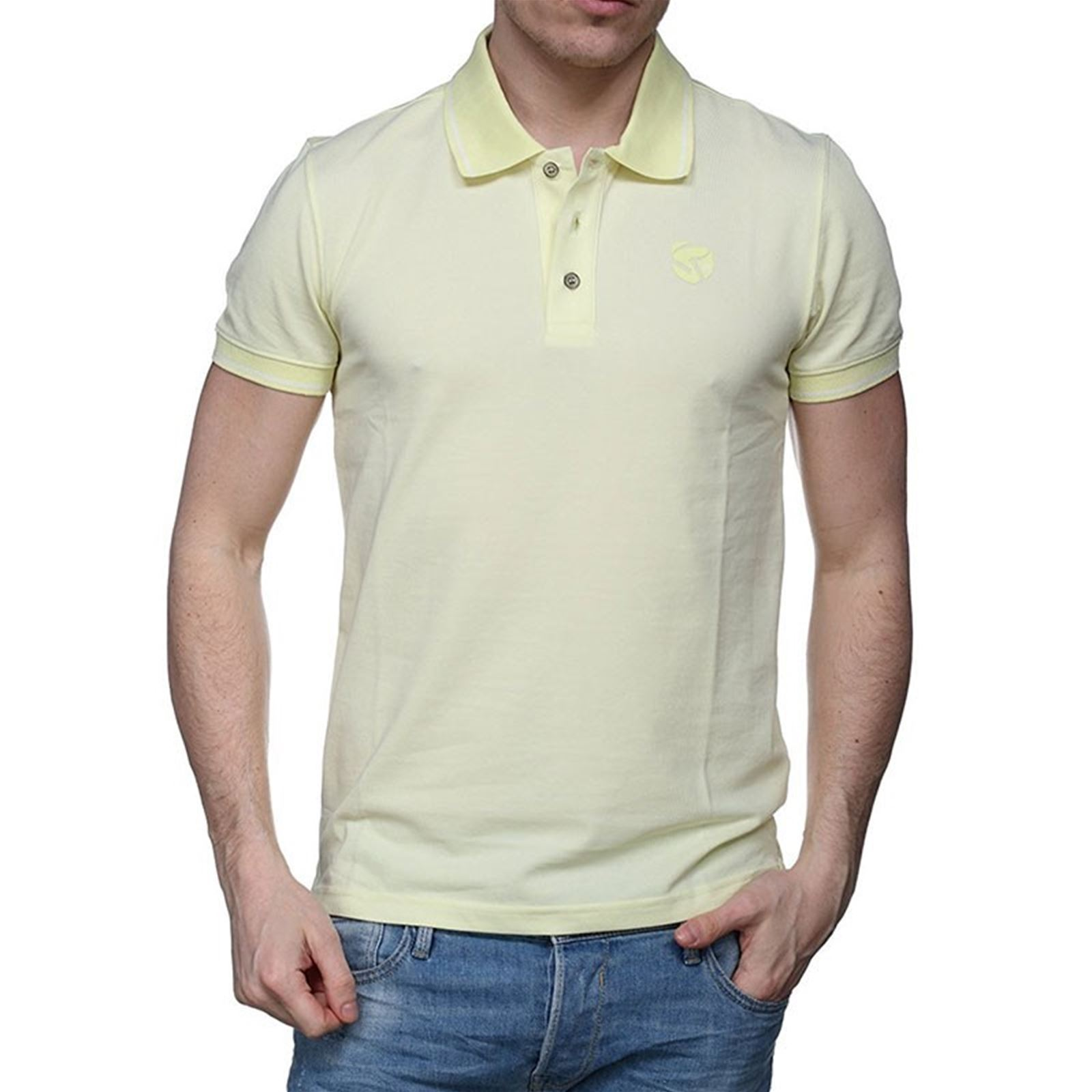 Jaune Polo Ariz Homme Courtes V Redskins ChandlerManches VjLqpGSUMz