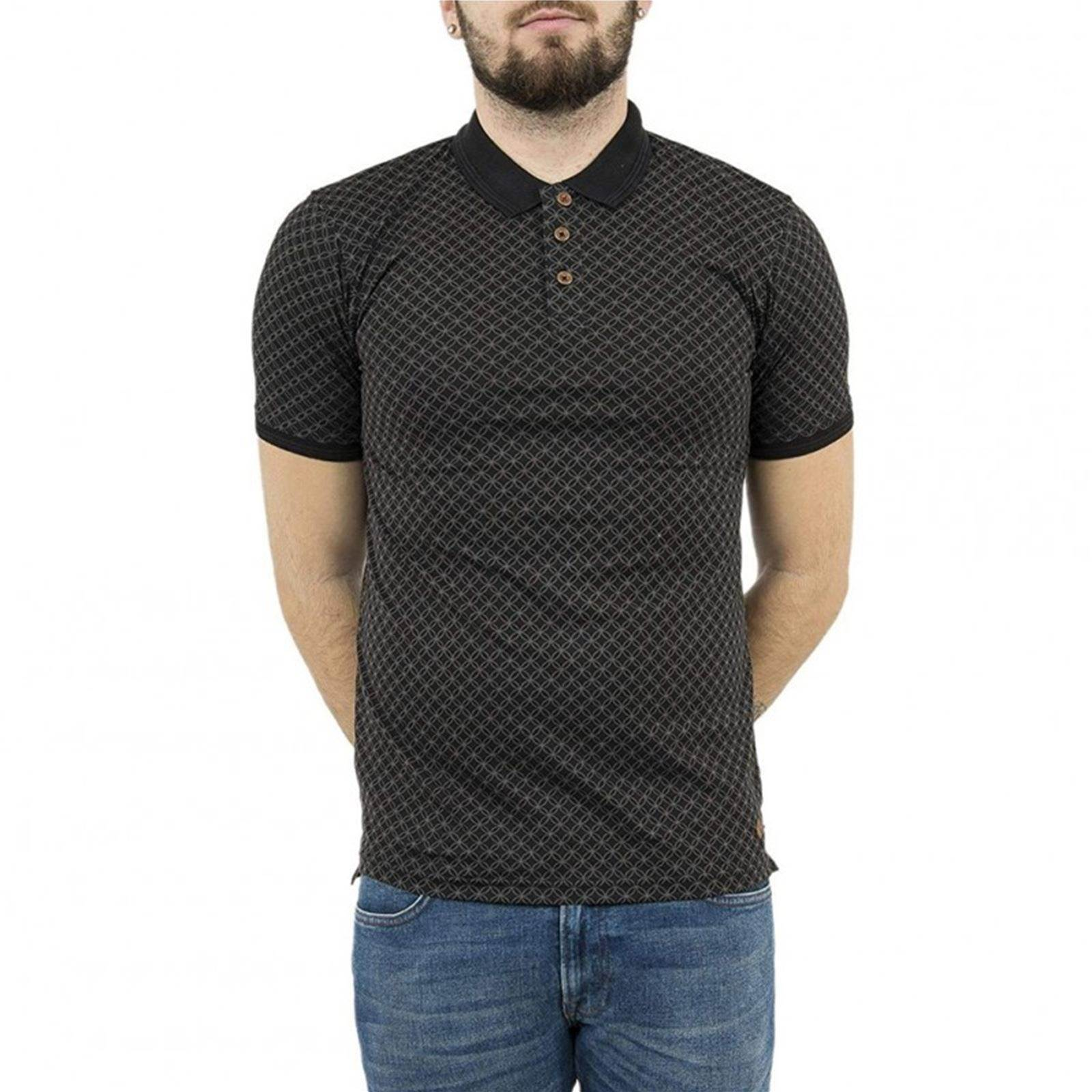 Cooper V Manches Homme CourtesNoir Lee Polo 7gbfy6