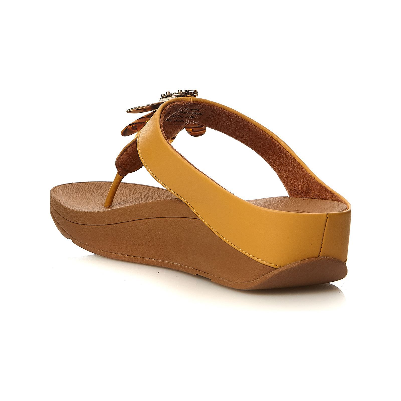 Fitflop DragonflyZehentrenner Gelb Conga Plateauhöhe2 Cm CodxBer
