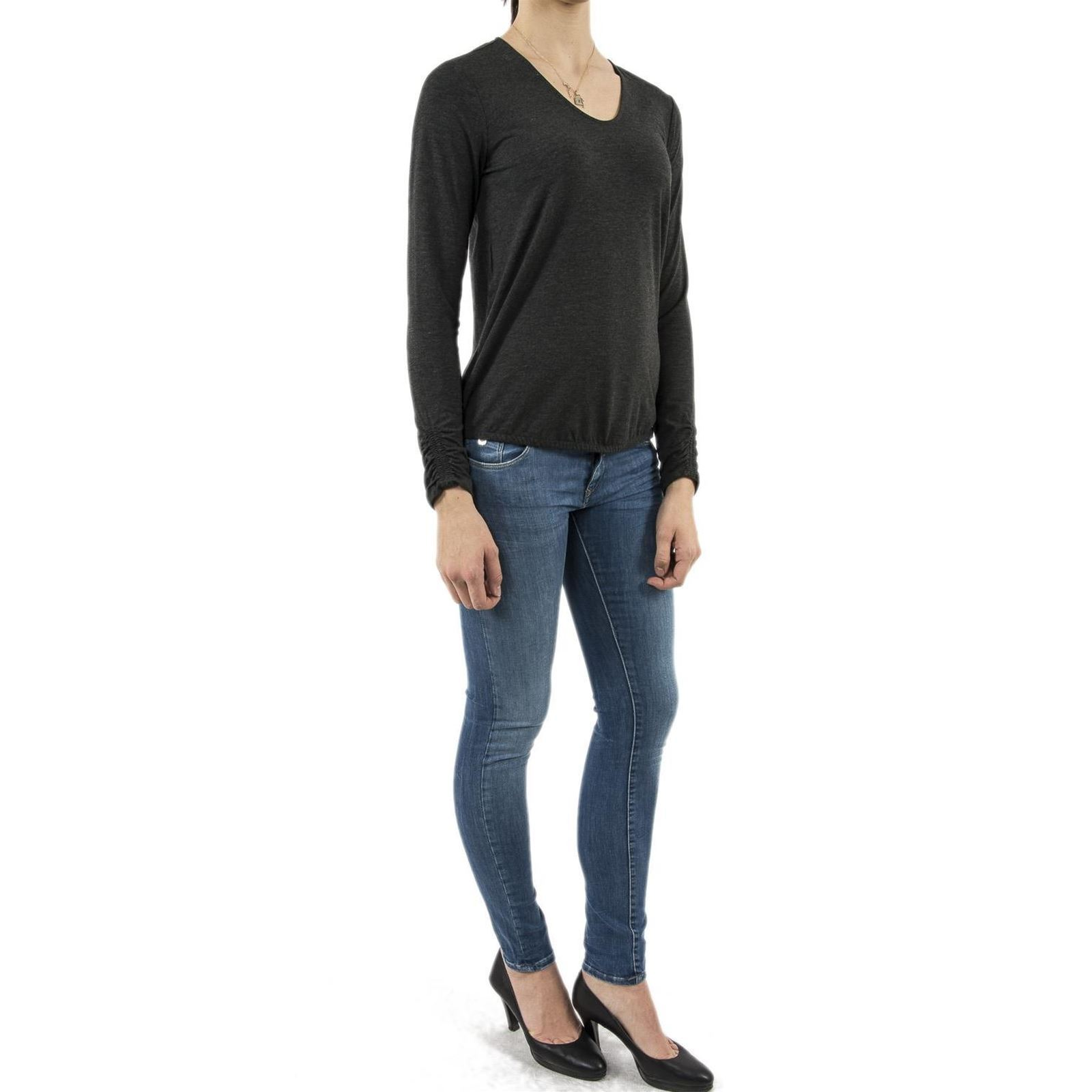 LonguesGris Chemise Femme One Street Manches V H2WE9ID
