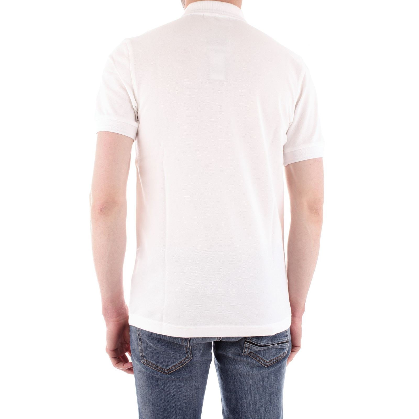 Perry Homme Polo CourtesBlanc V Manches Fred rWedxoBQC