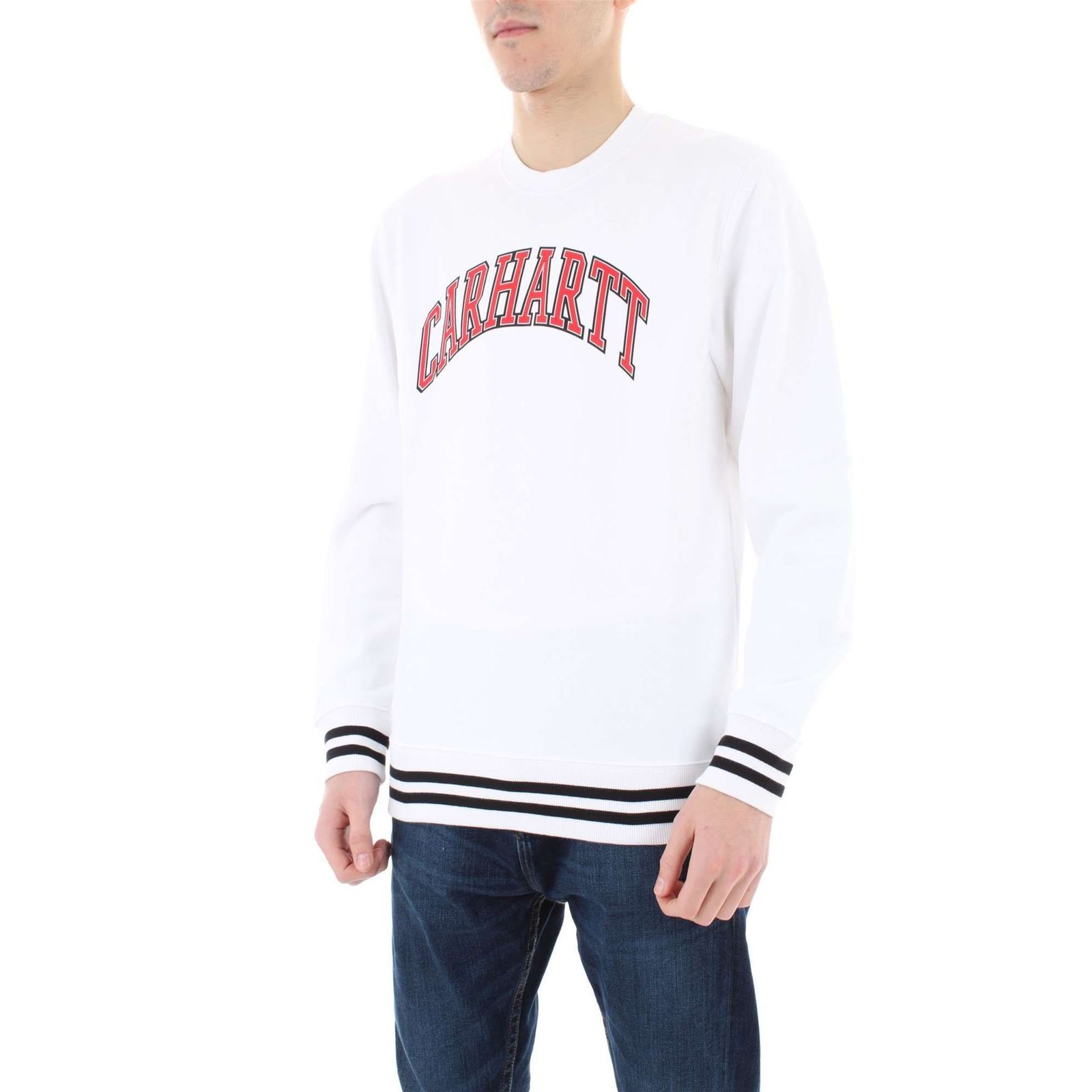 Carhartt Sweat shirtBlanc Sweat V V shirtBlanc Carhartt Sweat shirtBlanc Homme Homme Carhartt nP8wO0k