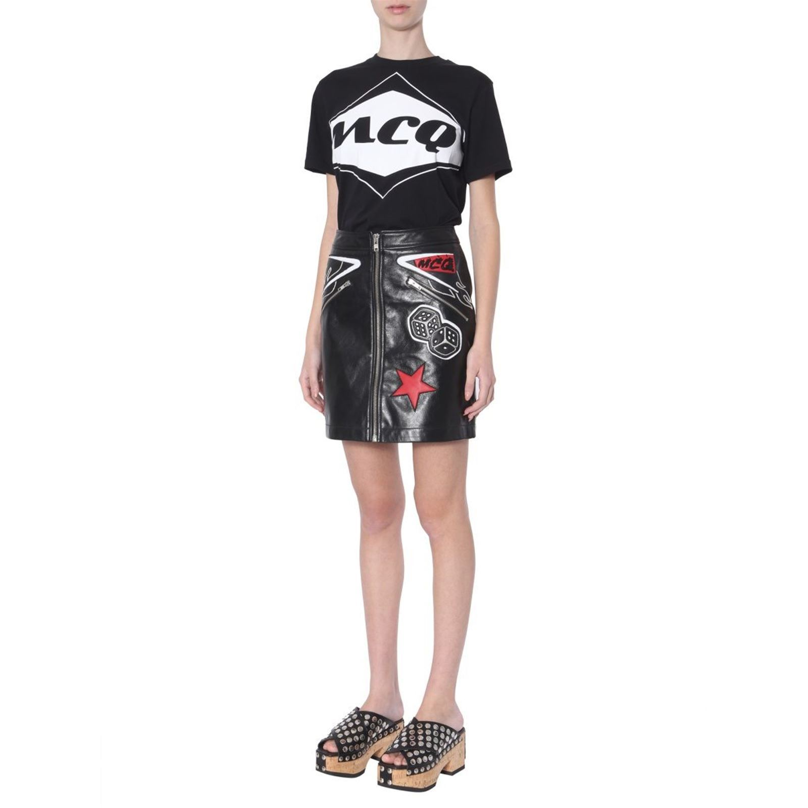 By DroiteNoir Femme Jupe Mcq Mcqueen V Alexander IY67bgvmfy
