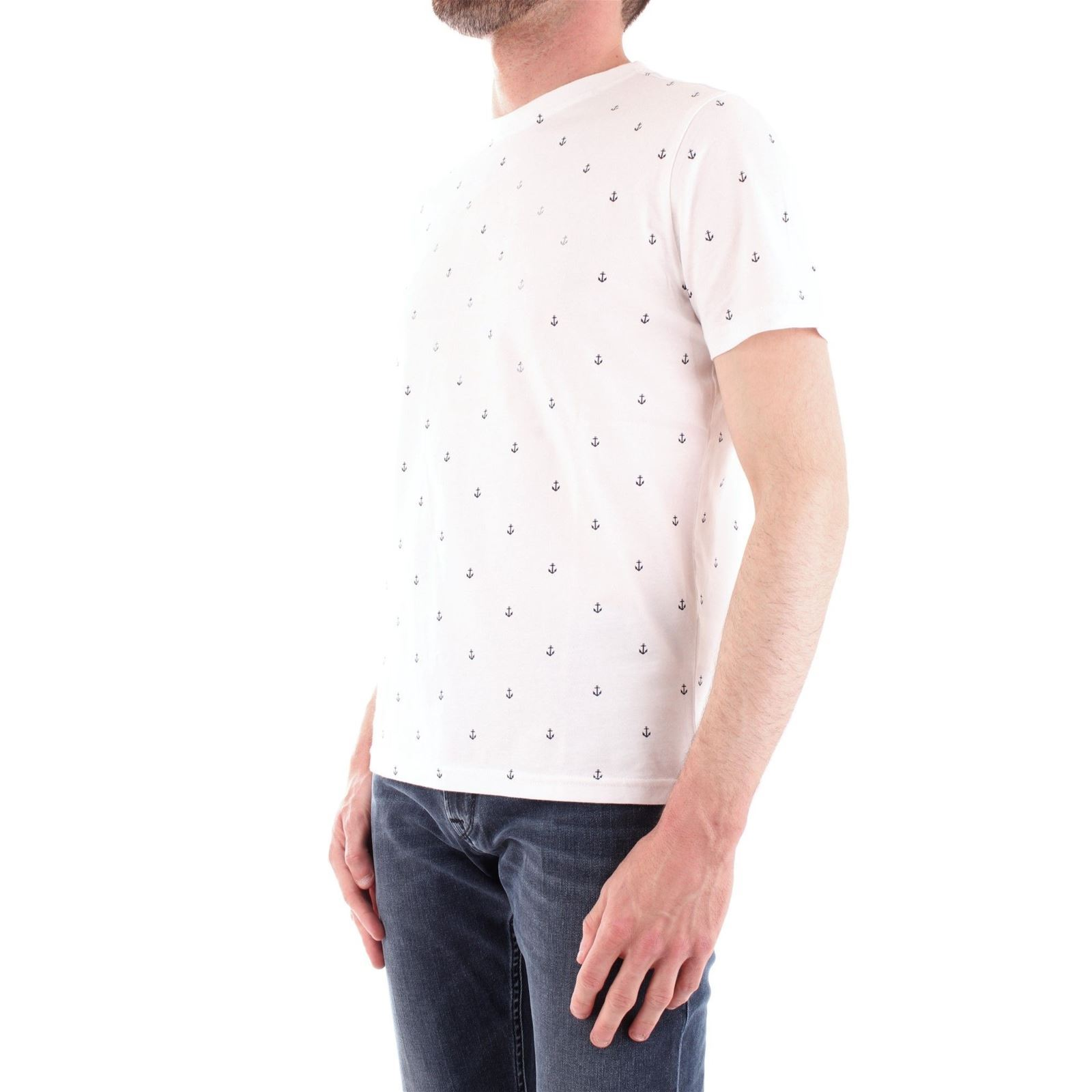 Sails North Manches CourtesBlanc T V Homme shirt 5ARq4L3j