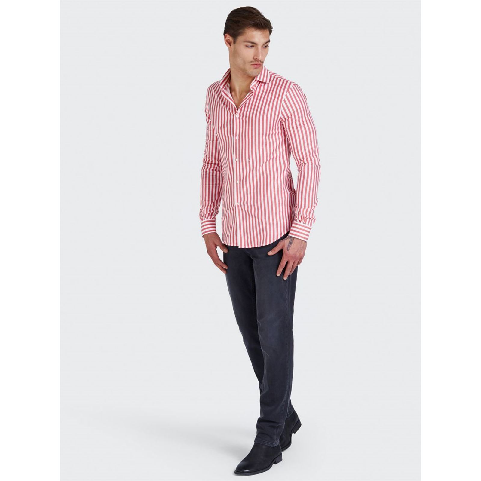 V Angeles Los Homme SlimRouge Marciano Chemise rsQBthCxd