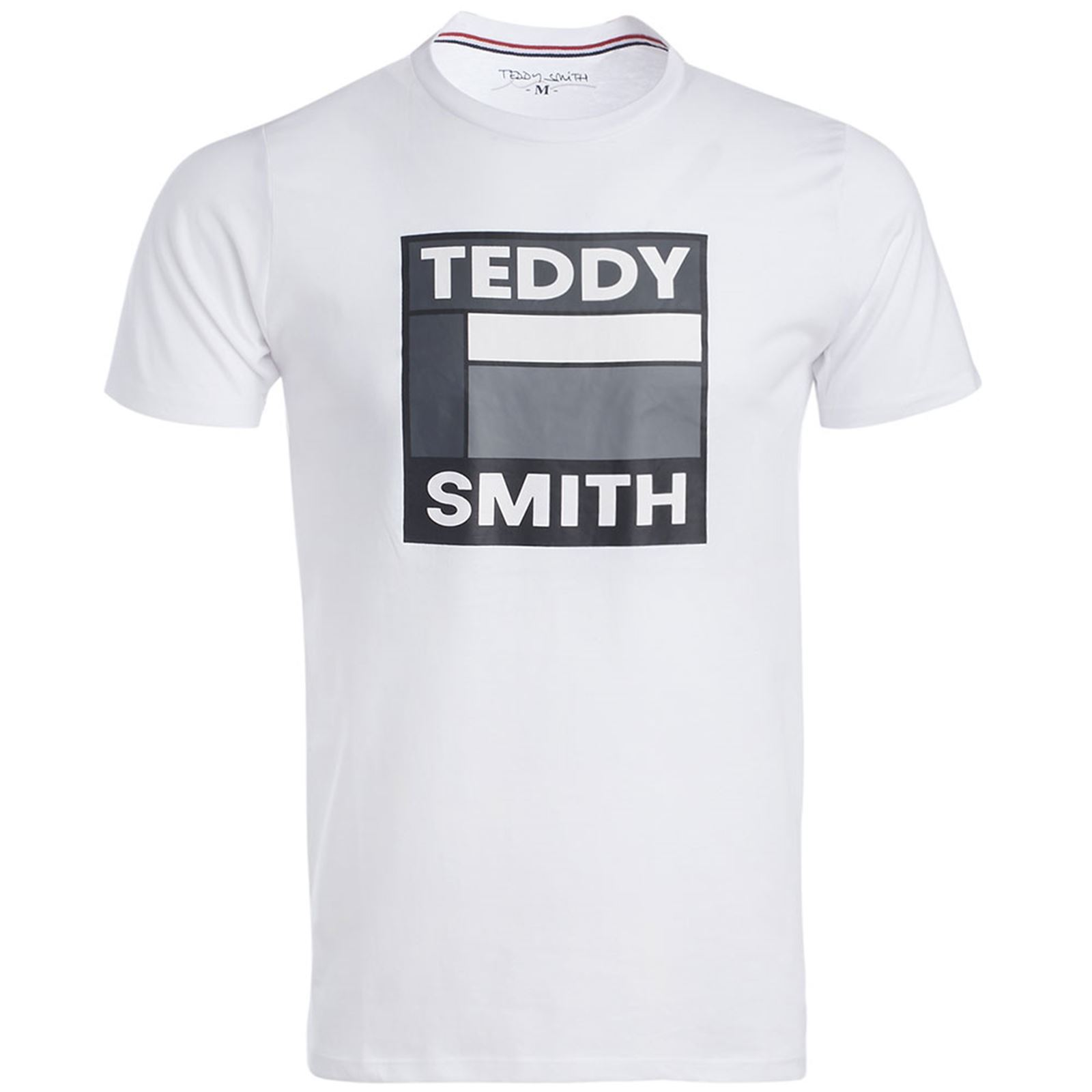 CourtesBlanc T V shirt Teddy Smith Manches Homme xodCerWB