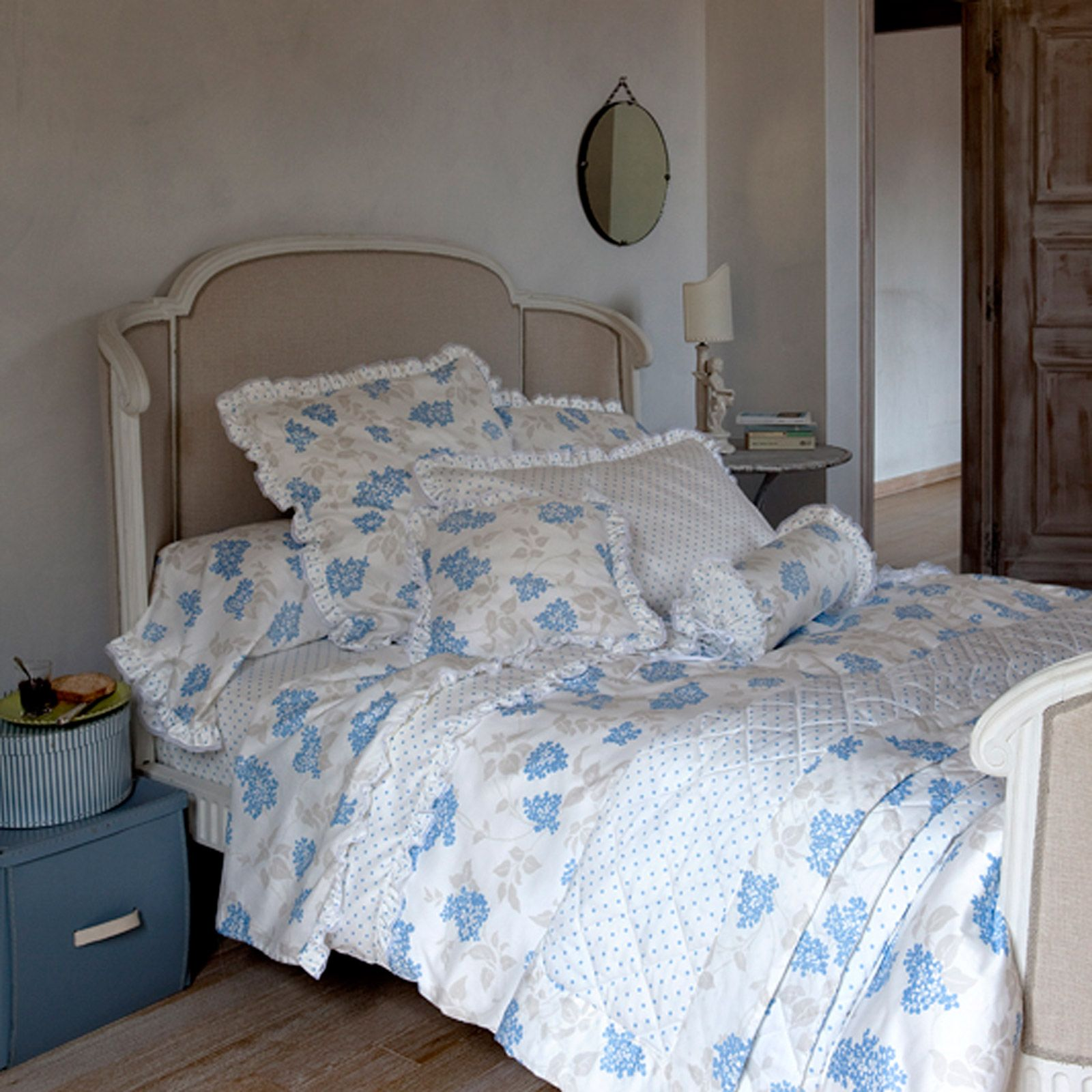 laura ashley bainbank housse de couette bleu brandalley