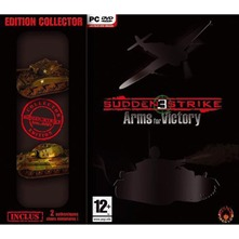 Sudden strike 3 collector plus 2 chars miniature de collection pour PC