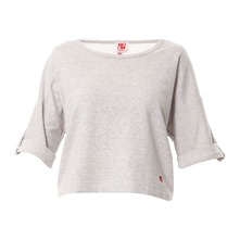 Sweat  gris clair