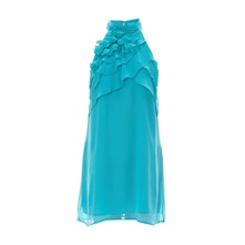 Robe fluide turquoise