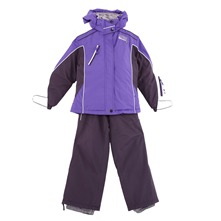 Ensemble de ski violet