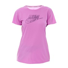 T-shirt C-NK SS Run Swoosh mauve
