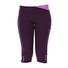 Nike Twisted Capri grand purple/grand purple/matte silver