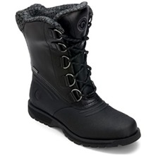 Men footwear: Black Lux Lodge Boots