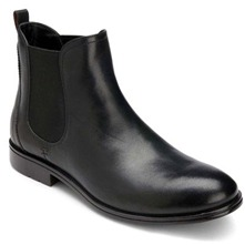 Men footwear: Black Fairwood Chelsea Boots