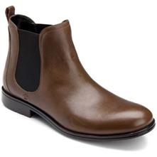 Men footwear: Dark Brown Fairwood Chelsea Boots
