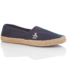 Men footwear: Navy Lakeside Plimsolls