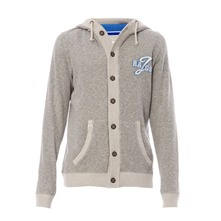 Sweat-shirt à capuche Aiden gris chiné