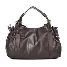 Sac 24 heures St Germain en cuir chocolat