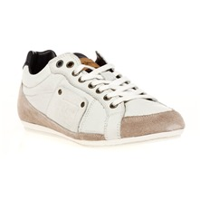 Sneakers Player en cuir gris clair
