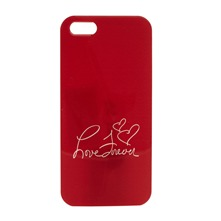 Coque rigide  iPhone5 rouge