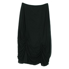 Jupe drape noire