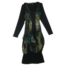 Robe multicolore