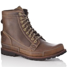Men footwear: Brown Earthkeepers Hiker Leather Boots