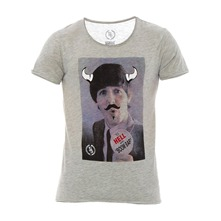 T-shirt Polo gris chiné