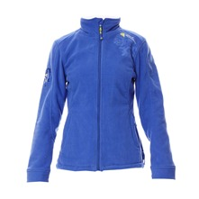 Veste polaire bleue
