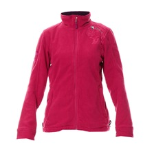 Veste polaire fushia
