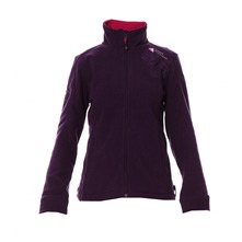 Veste polaire violette