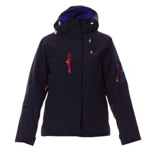 Parka  capuche bleu marine