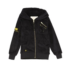 Gilet polaire noir