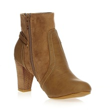 Bottines  talon taupe