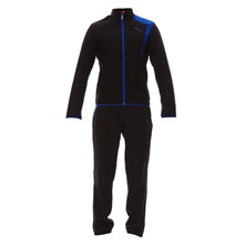 Ensemble jogging noir et bleu