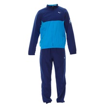 Ensemble jogging bleu