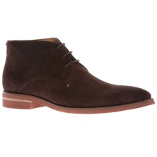 Men footwear: Coffee Suede Boots