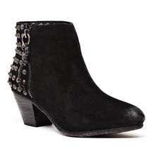Boots Alyson Nevada en cuir noir
