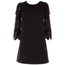 Black Sequined Leona Tunic