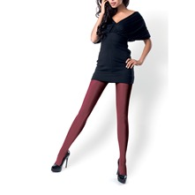Collants Velur bordeaux