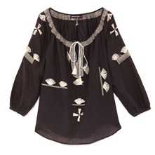 Blouse Midtown charbon