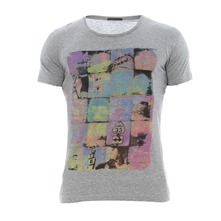 T-shirt gris chin