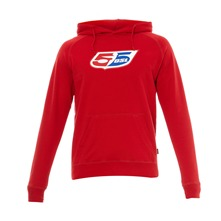 Sweat à capuche Flogo Hood rouge