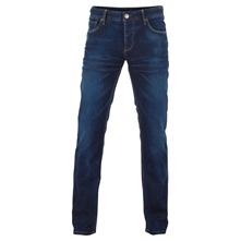 Jeans Three Dean regular bleu délavé